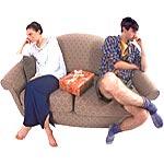 Η ποιότητα της επικοινωνίας μεταξύ των συζύγων, οι καβγάδες, η ένταση και η επιθετικότητα σχετίζονται την εξέλιξη της υγείας των συζύγων.
