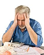 Τα υπερβολικά χρέη ενός ατόμου που είναι αιτία στρες, κατάθλιψης, παχυσαρκίας, υπερβολικού βάρους σώματος
