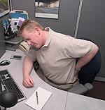 Ο πόνος στην πλάτη είναι ένα συχνό πρόβλημα και αιτία μείωσης της παραγωγικότητας.